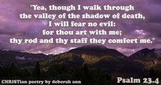 I am Not Afraid ~ | CHRISTian  poetry ~ by deborah ann