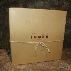 Hat Box Innes Department Store Wichita by DownInTheBasement Vintage Hat Boxes, Go To New York, Natural Tan, 24 Years Old, Small Art, Department Store, 1950s, Im Not Perfect, High School