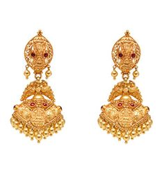 Online Jewellery Store, Buy Jewellery Watches Online, Jewelry Shopping India, Gold Diamond Jewelry - Bandhan-22KT Gold Jumkha - BN10585