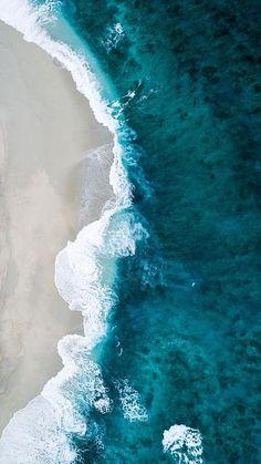 Strand Wallpaper, Waves Wallpaper, Beach Wallpaper, View Wallpaper, Beautiful Wallpaper, Wallpaper Quotes, Ocean Pictures, Beach Images, Beach Photos