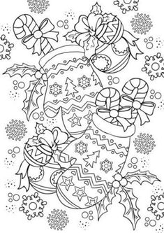 Christmas Coloring Sheets, Halloween Coloring Pages, Printable Christmas Coloring Pages, Printable Adult Coloring Pages, Coloring Book Pages, Free Coloring, Coloring Pages For Kids, Kids Coloring, Colouring Sheets For Adults