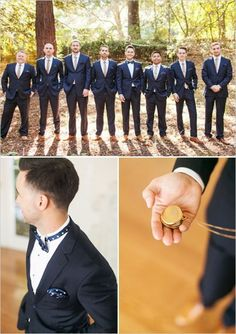 Groom & Groomsmen in Colour  - Blue