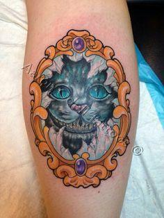 "fuckyeahtattoos: ""Citrus Heights CA Imperious Rex tattoos by Aaron Odell "" Wonderland Tattoo, Alice In Wonderland, Citrus Heights, Tattoo Inspiration, I Tattoo, Tatoos, Tatting, Ink, Darts"