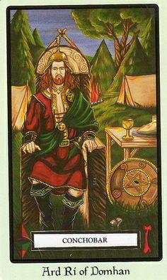 Faery Wicca Tarot, Knight of Pentacles