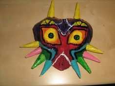Majora's Mask Paper Mache #halloween #prop #Legend_of_Zelda #link