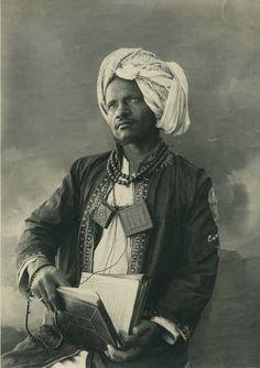 A Muslim Shaykh possibly from Somalia or Eritrea (1936)