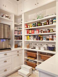 walk in pantry kitchen - Google Search
