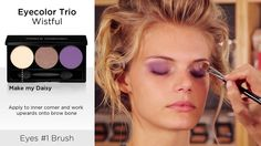 Merle Norman Cosmetics - Spring 2014 - Wistful Look 1 #tutorial #beauty #mua