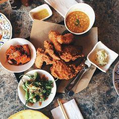 Fried chicken dinner winner. #foodporn