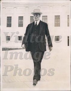 1935 New Supreme Court Building Chief Justice Charles Evans Hughes Press Photo