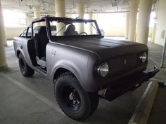 1965 International Harvester : Scout 80    (I had a Scout 80, but it didn't look near as nice as this one!)