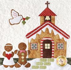Gingerbread Village - Set Of 7 Patterns + Accessory Fabric Packet | Shabby Fabrics