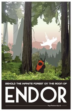 Star Wars Travel Posters - Created by Lindsay Craig Available for sale on Etsy.