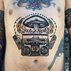 55 Gorgeous Stomach Tattoos For Men & Women Check more at http://tattoo-journal.com/45-unexpected-stomach-tattoos/
