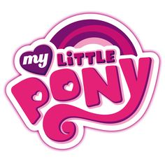 My Little Pony Want to surprise your children with an amazing gift? Has your daughter been bugging you to buy her a horse for the last few Christmases? Get the next best thing by shopping the My Little Pony partner store on Zazzle Paris France, Typo Logo, Typography, Logo Branding, Game Logo Design, My Little Pony Party, Text Design, Design Art, Graphic Design