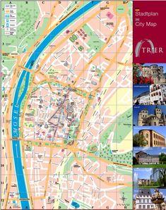Kiel tourist map Maps Pinterest Tourist map Kiel and City