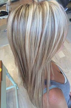 Long Hair Colors Korean Hair Color Highlights Source by Brown Blonde Hair, Platinum Blonde Hair, Blonde Fall Hair Color, Medium Hair Styles, Short Hair Styles, Types Of Hair Color, Korean Hair Color, Hair Color Highlights, Blonde Highlights With Lowlights