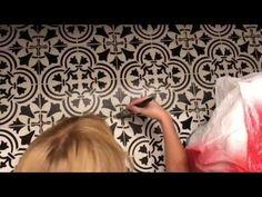 Stencil Stories » Stencil Pinterest Worthy Tile For Under $50!