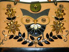Vintage 1960's Signed Enid Collins Purse Owl by TheIDconnection