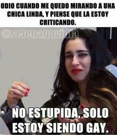 Read from the story Memes de lesbianas by Lu_Butera (Duamandis) with reads. Lgbt Love, Lesbian Love, Lgbt Memes, Funny Memes, Fifth Harmony Camren, Gay, Camila And Lauren, Lgbt Community, Girls In Love