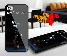 Nike Just Do It Dance for iPhone 4 / 4s Black case