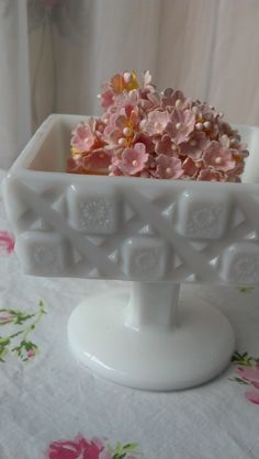 Vintage Milk Glass Westmoreland