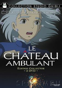 Couverture : Le château ambulant, tome 1 Manga Anime, Film Manga, Anime Films, Anime Art, Beau Film, Hayao Miyazaki, Totoro, Spirited Away Anime, Studio Ghibli Films