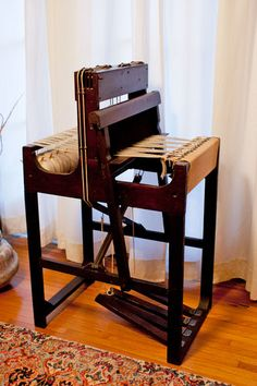 Antique Weaving Loom | eBay... I really want one of these