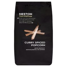 Heston from Waitrose Crunchy Curry Popcorn at Ocado Butter Popcorn, Popcorn Recipes, Heston Blumenthal, Curry Spices, Yummy Food, John Lewis, Relax, Image