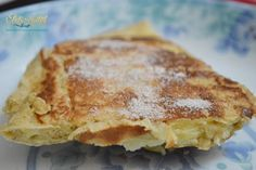 Zabpehelylisztes kevert almás palacsinta Diabetic Recipes, Diet Recipes, Healthy Desserts, Dessert Recipes, Crepe Cake, Food And Drink, Tasty, Snacks, Baking