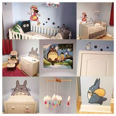 Our very own Totoro nursery for Baby Hull!