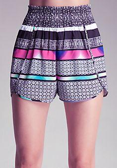 Smocked Waist Shorts.. I will have them alllllll