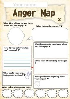 Anger Management Worksheet For Children - Free Anger And Feelings Worksheets For Kids Therapy Worksheets Anger Worksheets For Kids And Teens How Anger Feels Anger Management Worksheet Anger Ma. Therapy Worksheets, Worksheets For Kids, Social Work Worksheets, Counseling Activities, Anger Management Activities For Kids, Anger Management Worksheets, Group Counseling, Classroom Management, Social Work Activities