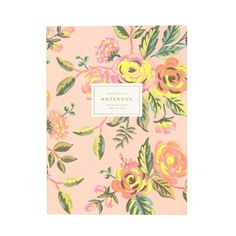 Jardin De Paris Memoir Notebook features a full-color  illustrated cover with neon accents. It's packed with 130 ruled pages that include neon pink accents inside.