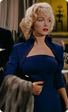"Marilyn Monroe, ""Gentlemen Prefer Blondes"", 1953."