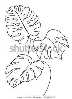 Line Art Design, Line Art Flowers, Flower Art, Pencil Art Drawings, Easy Drawings, Contour Drawings, Charcoal Drawings, Contour Line Drawing, Gesture Drawing