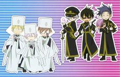07 ghost frau   Anime, 07-ghost, Frau (07-ghost), Ayanami (07-ghost), Castor (07-ghost ...
