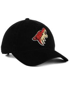 adidas Arizona Coyotes Core Slouch Cap - Black Adjustable