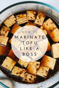 How To Marinate Tofu Like a Boss | This super simple recipe for marinated tofu will be enjoyed by vegans, carnivores, and even your kids. Try it today!
