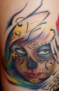 Sugar Skull Tattoo Pictures at Checkoutmyink.com