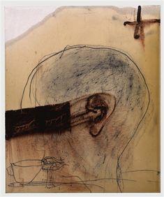 L'hora del te by Antoni Tàpies
