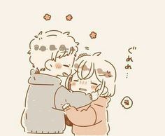 Image shared by BabyGirl. Find images and videos about love, cute and couple on We Heart It - the app to get lost in what you love. Cute Chibi Couple, Cute Couple Art, Cute Couple Drawings, Cute Drawings, Cute Anime Chibi, Kawaii Anime, Cute Cartoon, Cartoon Art, Cute Couple Wallpaper