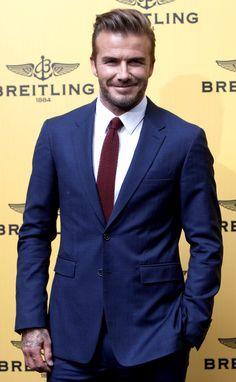 David Beckham in Spain 2015