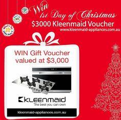 Win a $3000 Kleenmaid Voucher