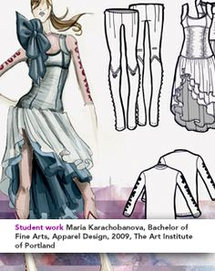 Fashion Competitions and scholarships for the high school crowd.