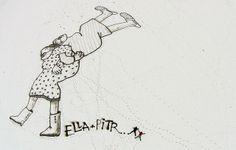ST GENEST MALIFAUX 01.2014 | Ella et Pitr, les Papiers Peintres