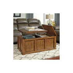 Signature Design by Ashley Tamonie Coffee Table with Lift Top