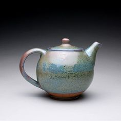 Handmade Ceramic Teapots | handmade ceramic teapot tea kettle with green by rmoralespottery, $100 ...