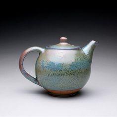 Handmade Ceramic Teapots | handmade ceramic teapot tea kettle with green by rmoralespottery, $100 ...