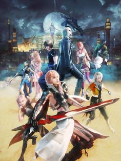 View an image titled 'Promo Art' in our Lightning Returns: Final Fantasy XIII art gallery featuring official character designs, concept art, and promo pictures. Final Fantasy Artwork, Final Fantasy Characters, Final Fantasy Vii, Fantasy Series, Lightning Images, Lightning Game, Lightning Final Fantasy, Character Art, Character Design